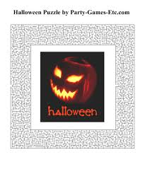 halloween game party ideas free halloween printable games u2013 festival collections