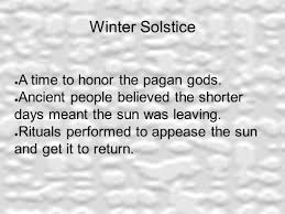 the history of symbols winter solstice a time to honor