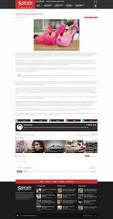 bmw magazine ads snews news magazine responsive blogger theme by marithemes
