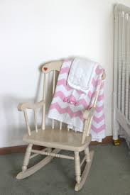 Pink Rocking Chair For Nursery Our Space Lucille U0027s Nursery The Holzmanns