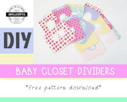 Baby Clothes Dividers Diy Baby Closet Dividers Mollerful Youtube
