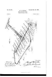 patent us644002 revolving hay rake google patents