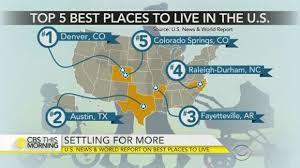 best place to live in u s colorado boasts two cities in top 5