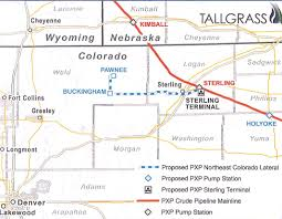Pony Express Route Map by Property Owners At Odds With Tallgrass Energy Over Easement