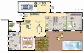 plan maison plain pied 2 chambres garage plan maison plain pied 2 chambres garage génial plan maison vers