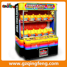 qingfeng coin operated games crazy fishing game machine arcade