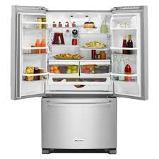 kitchenaid cabinet depth refrigerator krfc300esskitchenaid 36 20 cu ft counter depth french door