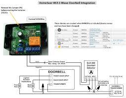 hs3 z wave doorbell integration with example events homeseer