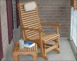 Outdoor Single Glider Chair Outdoor Seating