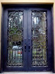 one of our favorite custom wrought iron entry doors dream home