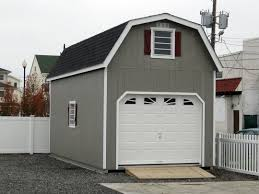 prefab garages with living quarters 12x24 1 car 2 story garage with gambrel roof super spacious
