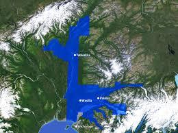 Eagle River Alaska Map by Service Area Map U2013 Matanuska Electric Association Inc