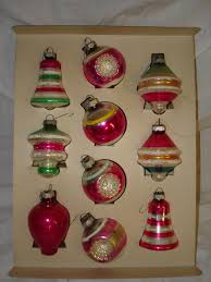 vintage 1950 s tree ornaments vintage