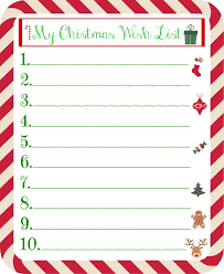 christmas wish list best 25 christmas list printable ideas on christmas