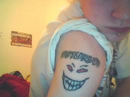 disturbed tattoo by zanzibar27 on deviantart