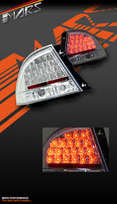 toyota altezza jdm crystal clear led tail lights lexus is300 is200 99 05 altezza jdm