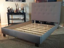 Twin Bed Frame With Headboard by Bed Frame Tufted Headboard Diy Ideas Headboard Ideas Good Tufted