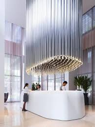 Hotel Interior Design Singapore Thecoolhunter On Hotel Reception Light Installation And Studio