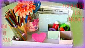 kids crafts colorful desk organizer youtube