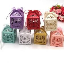chocolat mariage 50 pcs de mariage boîte à sucrerie de chocolat emballage
