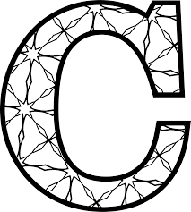 spectacular letter coloring pages with letter c coloring pages