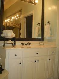 Can You Spray Paint Bathroom Tile A Single Line Of Gold Tile And Distinctive Brass Faucet Elevate An