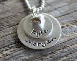 personalized name necklace sterling silver silver name necklace etsy
