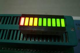 multi color led light bar multicolor stable performance 10 led light bar for home appliances