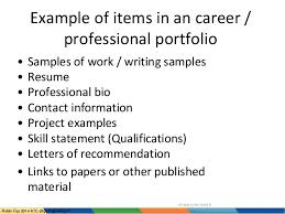 e portfolios atc overview