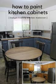 painting kitchen cabinets diy how to paint kitchen cabinets budget friendly kitchen makeover