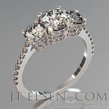 brilliant rings images Pave diamond enagement rings antique style engagement ring round jpg