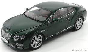 bentley green paragon models 98222l scale 1 18 bentley continental gt coupe