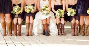 short bridesmaid dresses to wear with cowboy boots latest