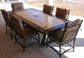 rustic star decorations for home furniture dining sets texas star decor texas star outdoor dining