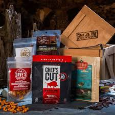 caveman crate snack gifts for guys crates