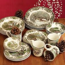 johnson brothers friendly dinnerware set this is winter