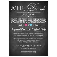 post wedding reception invitations post wedding invitation chalkboard scrolls pink and blue hearts