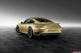 gold porsche 911 official lime gold 2014 porsche 911 turbo by porsche exclusive