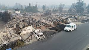 California Wildfires Pets by Deadly Calif Wildfire Doesn U0027t Stop This U S Postal Service