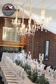 vintage rustic wedding crystal chandeliers minnesota rustic