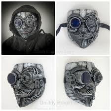 steampunk techno phantom mascarade mask anonymous v for