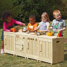 Childrens Wooden Kitchen Furniture Buy The Outdoor Wooden Role Play Kitchen Tts