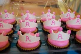 lacey cakes princess baby shower cupcakes