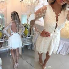 open back princess long sleeves short mini tulle sequined