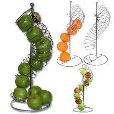metal fruit basket metal fruit basket apple orange spiral holder large holder kitchen