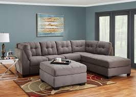 Charcoal Sectional Sofa Marlo 3 Pc Laf Sectional Charcoal Sectionals Living Room