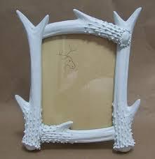 deer antler photo frame painted picture frame men u0027s home decor