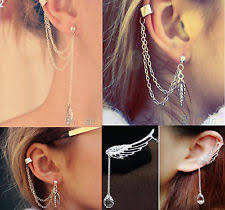 ear cuffs uk ear cuff buy clip on ear cuffs ebay uk