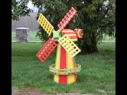 decorative garden windmills