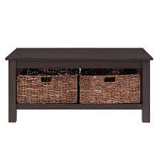 walker edison coffee table walker edison furniture company stanford espresso storage coffee